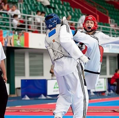 Алтайский тхэквондист Альберт Гаун занял второе место на Европейских играх.