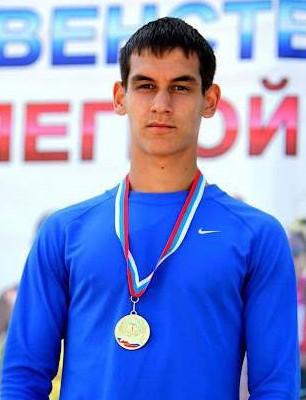 Евгений Кунц победитель первенства России.