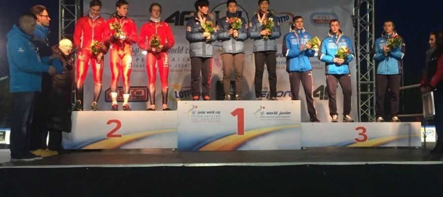 Виктор Муштаков – бронзовый призёр первенства мира среди юниоров.