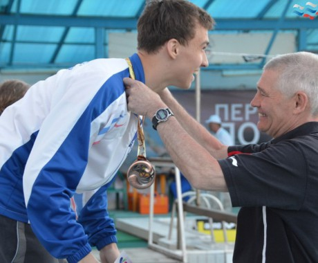 Александр Казанцев – третий призёр всероссийских соревнований.