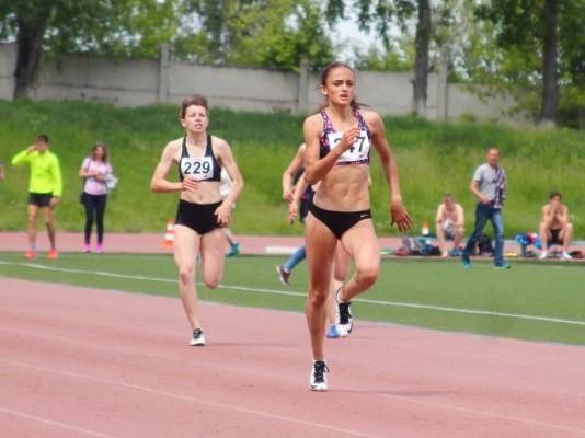 Полина Миллер — чемпионка России в беге на 400 метров