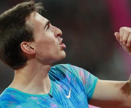 Сергей Шубенков на первом международном старте после перерыва стал третьим с лучшим результатом в сезоне