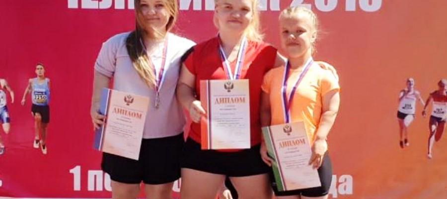 Алтайские инваспортсмены привезли три медали с чемпионата России по лёгкой атлетике ПОДА