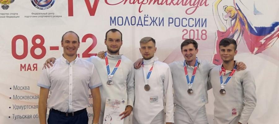 Алтайские фехтовальщики — бронзовые призёры летней Спартакиады молодёжи России