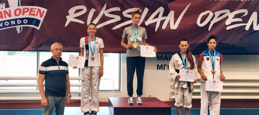 Анастасия Анохина — серебряный призёр международного турнира «Russia Open»