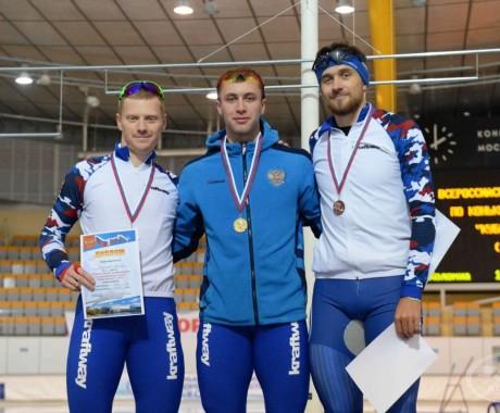 Виктор Муштаков — победитель и серебряный призёр I этапа Кубка России