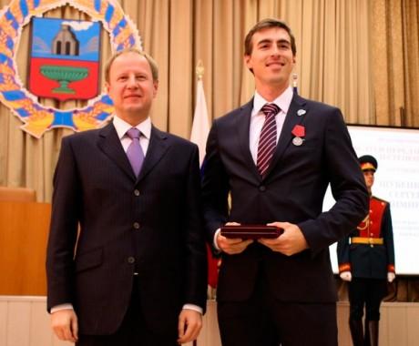 Сергей Шубенков и Сергей Клевцов награждены медалями ордена «За заслуги перед Отечеством» II степени