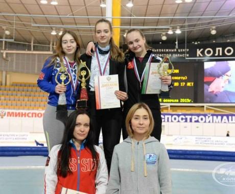Алиса Беккер — победительница первенства России среди девушек до 17 лет в масстарте
