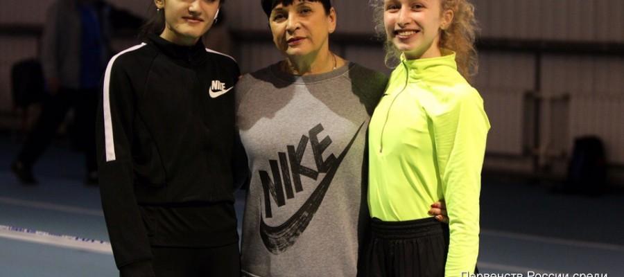 Савелий Савлуков — победитель, Анжелика Паренчук — серебряный призёр первенства России среди спортсменов до 20 лет