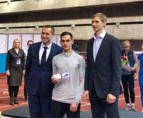 Евгений Кунц выиграл серебряную медаль на «Мемориале Алексеева»