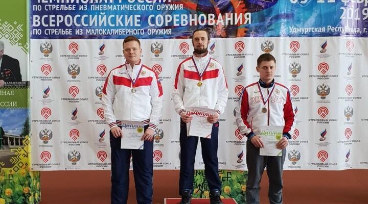 Сергей Каменский одержал две победы на всероссийских соревнованиях в Ижевске