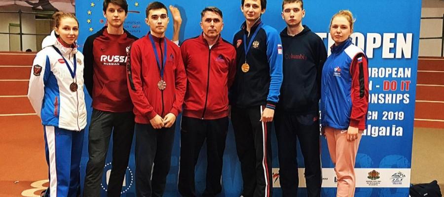 Спортсмены КАУ «ЦСП» завоевали 3 медали на МультиЕвропейских играх в Софии