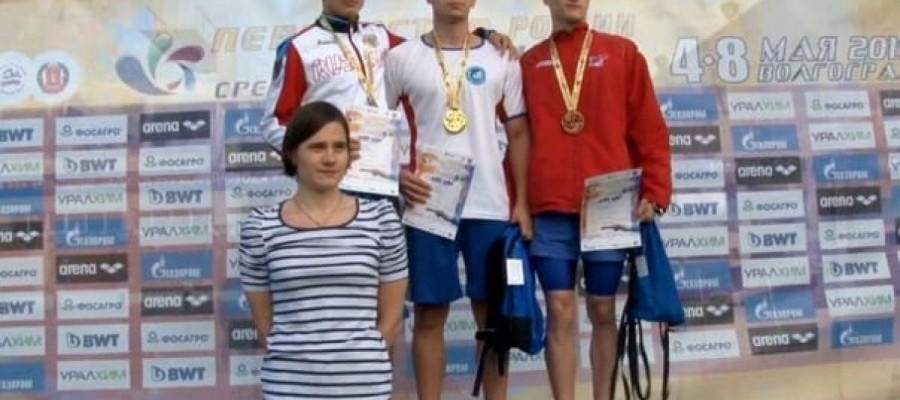 Илья Шилкин — двукратный победитель первенства России
