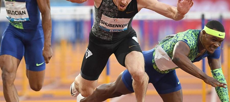 Сергей Шубенков выиграл этап «Бриллиантовой лиги», опередив на финише олимпийского чемпиона Маклауда