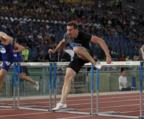 Сергей Шубенков победил в беге на 110 метров с барьерами на этапе «Бриллиантовой лиги» в Риме