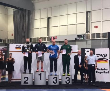 Виталий Щур — бронзовый призёр международного турнира в Дортмунде