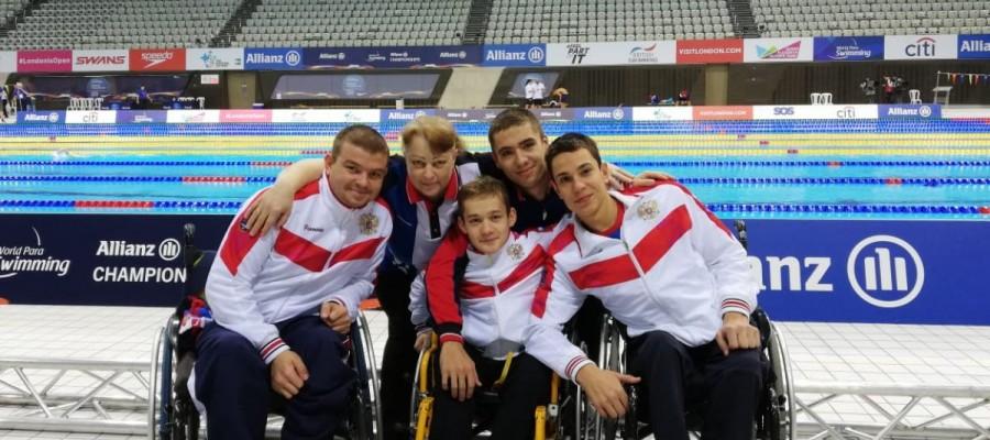 Квартет бийских спортсменов вернулся домой с чемпионата мира по плаванию.