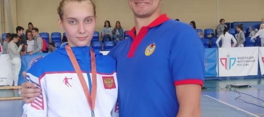 Анна Смирнова из Барнаула стала бронзовым призером юниорского первенства СФО среди спортсменов до 21 года
