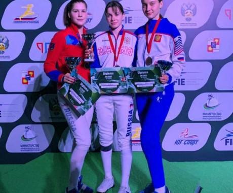 Анна Смирнова из Барнаула — бронзовый призёр этапа Кубка мира среди юниоров