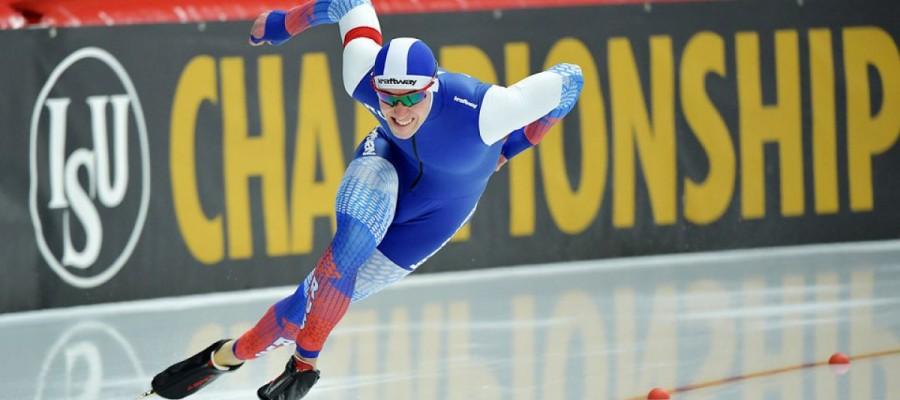 Виктор Муштаков — четвёртый на дистанции 500 метров чемпионата мира в Солт-Лейк-Сити