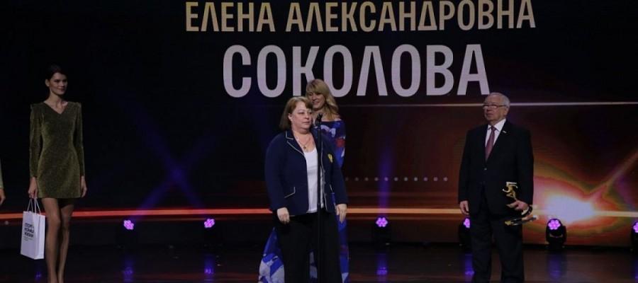 Тренер пловцов-инваспортсменов Елена Соколова из Бийска — лауреат Национальной спортивной премии