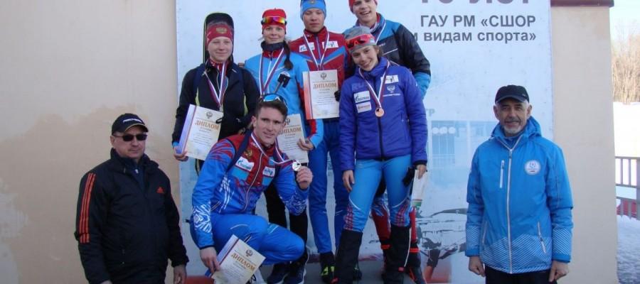 Анастасия Гришина из Алтайского района — серебряный призёр первенства России в смешанной эстафете
