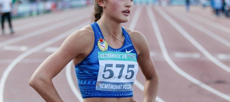 Полина Миллер из Барнаула стала чемпионкой России в беге на 400 м