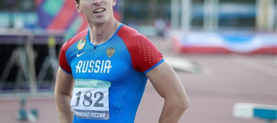 Сергей Шубенков стал трехкратным чемпионом России в барьерном спринте