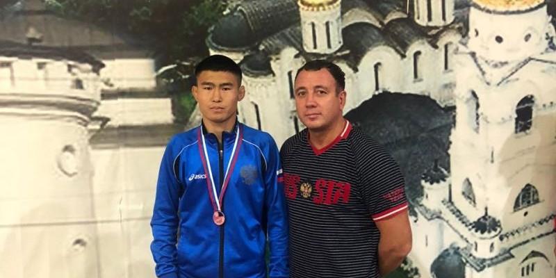 Сунер Конунов стал бронзовым призёром первенства России