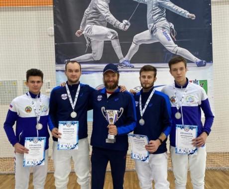 Фехтовальщики КАУ «ЦСП» — призёры чемпионата СФО