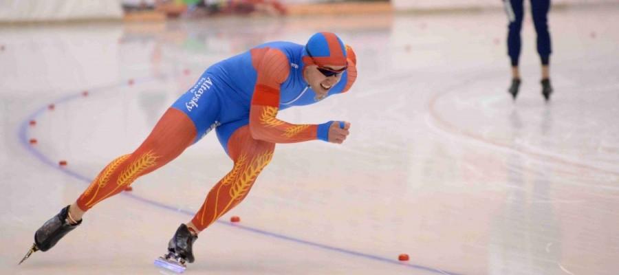 Виктор Муштаков выиграл Кубок Союза конькобежцев России на дистанции 1000 метров