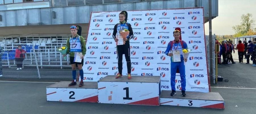 Олег Домичек завоевал бронзу на первенстве России среди юношей