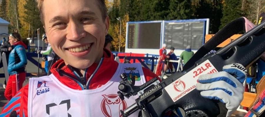 Даниил Серохвостов выиграл две медали на юниорском первенстве России
