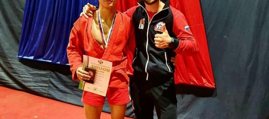 Нурсултан Садуакасов стал бронзовым призёром Кубка России по самбо