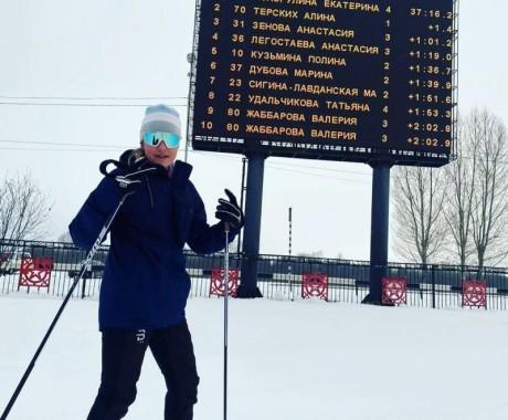 Екатерина Копорулина одержала победу в индивидуальной гонке на Всероссийских соревнованиях «Приз памяти Памира Ямалеева»
