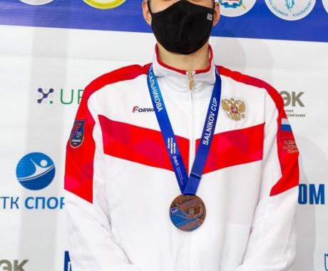 Илья Сибирцев — бронзовый призёр международного турнира «Кубок Владимира Сальникова»