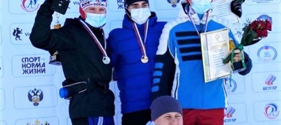 Никита Денисов завоевал бронзу первенства России среди спортсменов 21−23 лет