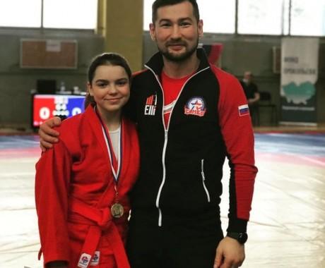 Анастасия Чебыкина — бронзовая медалистка первенства России