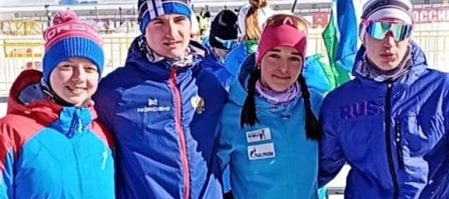 Первенство России: Анастасия Гришина и Леонид Кульгускин завоевали еще по одной медали