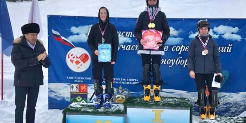 Во второй день чемпионата и первенства Сибири Дарья Фадеева снова в призах