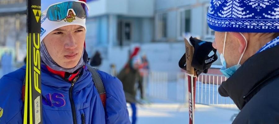 Леонид Кулькускин стал серебряным призером первенства России в гонке на 10 км
