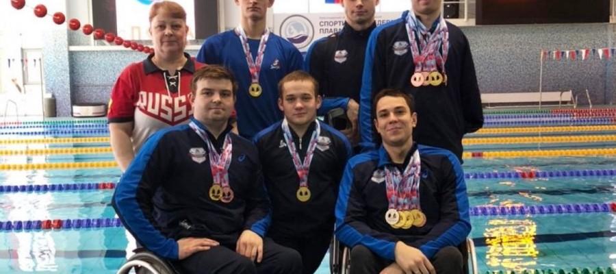 На чемпионате России по плаванию лиц с ПОДА бийские спортсмены завоевали 12 медалей
