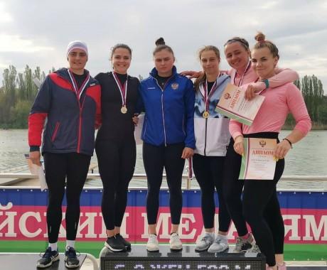 Ирина Андреева завоевала ещё одну медаль Кубка России — серебряную