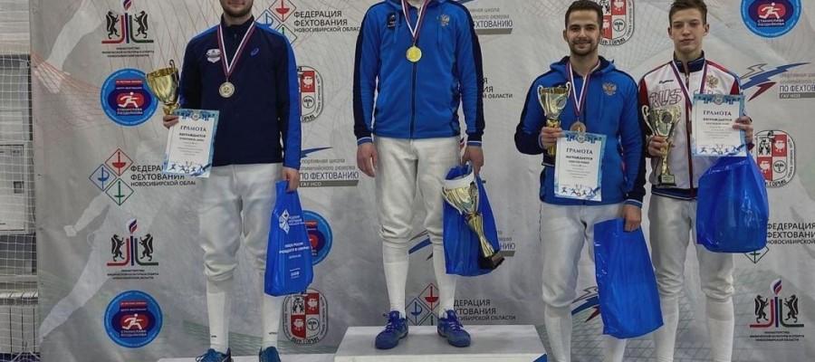 Данил Бубенчиков — серебряный призёр чемпионата СФО