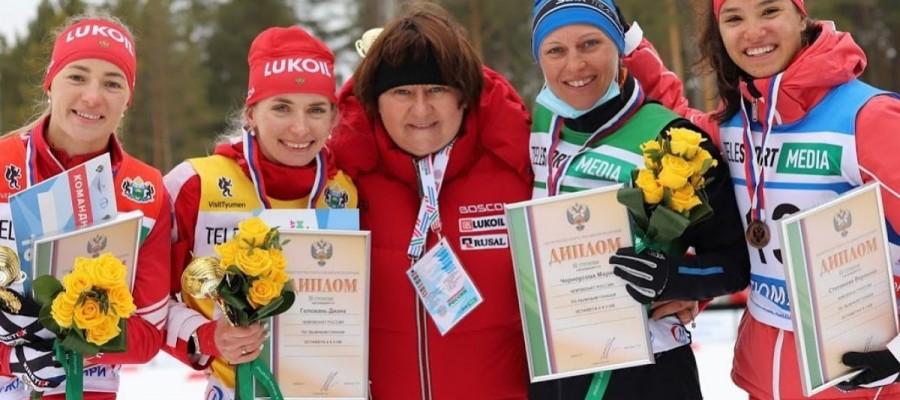 Яна Кирпиченко завоевала свою первую медаль на чемпионатах России