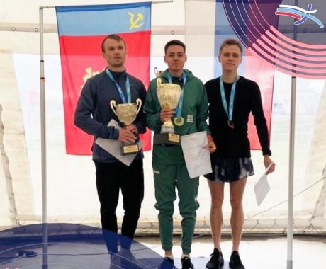 Юрий Клопцов — серебряный призёр чемпионата России по кроссу