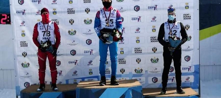 Даниил Серохвостов выиграл спринт на юниорском первенстве России U21