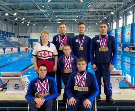 22 медали и второе командное место. Итоги чемпионата России по плаванию среди спортсменов с ПОДА