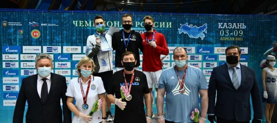 Илья Сибирцев — бронзовый призёр чемпионата России на дистанции 800 метров