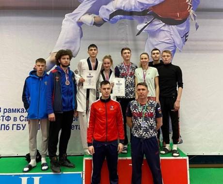 Три медали завоевали спортсмены КАУ «ЦСП» на всероссийском турнире в Санкт-Петербурге